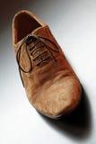 Primer marrón del zapato del Mens. imágenes de archivo libres de regalías