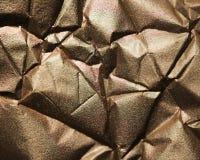 Primer metálico de la textura del brillo del oro fotos de archivo libres de regalías