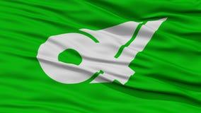 Primer Mie Japan Prefecture Flag Fotos de archivo libres de regalías