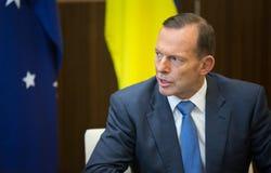 Primer ministro australiano Tony Abbott Imagen de archivo libre de regalías