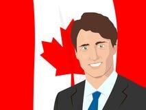 Primer ministro de Canadá stock de ilustración
