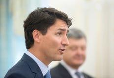 Primer ministro de Canadá Justin Trudeau fotos de archivo libres de regalías