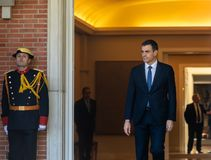 Primer ministro de España Pedro Sanchez foto de archivo