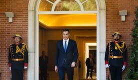 Primer ministro de España Pedro Sanchez imagenes de archivo
