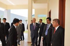 Primer ministro de Malasia imagen de archivo libre de regalías