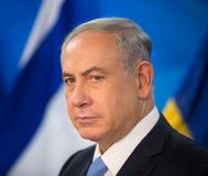 Primer ministro israelí Benjamin Netanyahu Imágenes de archivo libres de regalías