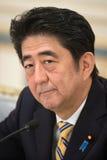 Primer ministro japonés Shinzo Abe Fotografía de archivo libre de regalías