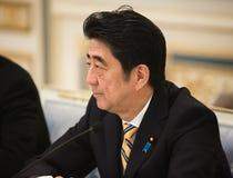 Primer ministro japonés Shinzo Abe Fotos de archivo