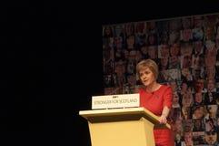 Primer ministro Nicola Sturgeon Imagenes de archivo