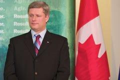 Primer ministro Stephen Harper Foto de archivo