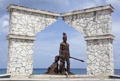 Primer monumento de la nación Foto de archivo libre de regalías