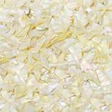 Primer natural amarillo de las conchas marinas del nácar de la piedra preciosa, textura hermosa de la piedra preciosa Fotos de archivo libres de regalías