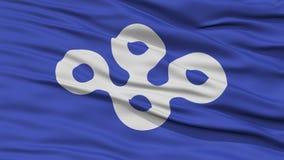 Primer Osaka Japan Prefecture Flag Foto de archivo libre de regalías