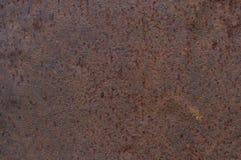 Primer oxidado de la hoja del hierro imágenes de archivo libres de regalías