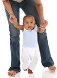 Primer paso de progresión del bebé Imagen de archivo