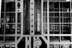 Primer plástico de la plataforma de B&W foto de archivo libre de regalías