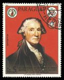 Primer presidente de George Washington de los E.E.U.U. Imagen de archivo libre de regalías