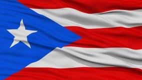 Primer Puerto Rico Flag Foto de archivo libre de regalías