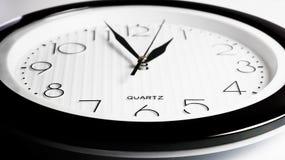 Primer redondo del reloj Imágenes de archivo libres de regalías
