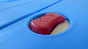 Primer rojo del botón Imágenes de archivo libres de regalías