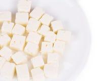 Primer sabroso del queso suave Foto de archivo libre de regalías