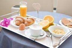 Primer sano del desayuno de la mañana Fotografía de archivo libre de regalías