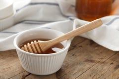 Primer sano dulce delicioso de la vida del cazo de la miel aún Fotografía de archivo