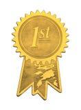Primer sello del oro del lugar Imagenes de archivo