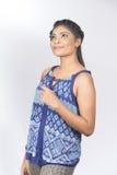 Primer srilanqués hermoso del adolescente Foto de archivo