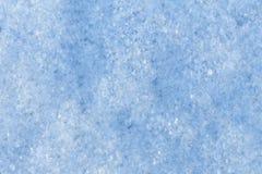 Primer superficial de la nieve Imagenes de archivo