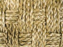 Primer tejido de la cesta Imagenes de archivo