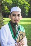 Primer tirado de hombre musulmán Imagen de archivo