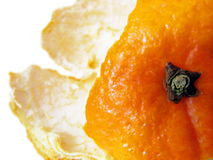 Primer a un casco anaranjado Imagen de archivo libre de regalías
