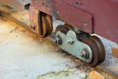 Primer una puerta de la rueda Imagen de archivo
