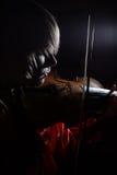 Primer violín Foto de archivo libre de regalías