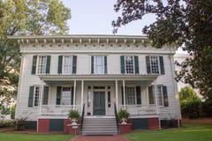 Primer Whitehouse del Confederacy fotografía de archivo