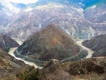 Primera bahía del río Jinsha Imagen de archivo