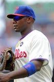 Primera base Ryan Howard de Philadelphia Phillies Imagen de archivo libre de regalías