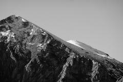 Primera caída de la nieve Imagenes de archivo