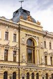 Primera casa de la sociedad de crédito en St Petersburg Foto de archivo