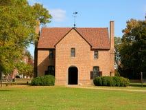 Primera casa del estado en Maryland Fotos de archivo libres de regalías