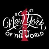 Primera ciudad de Nueva York Imagen de archivo libre de regalías