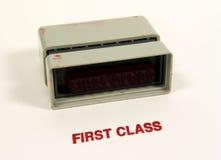 Primera clase Imagenes de archivo