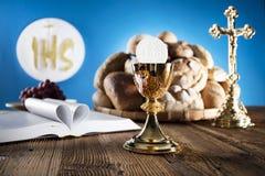 Primera comunión santa Imagenes de archivo