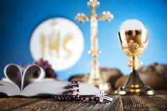 Primera comunión santa Imagen de archivo