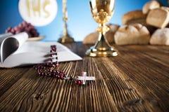 Primera comunión santa Imágenes de archivo libres de regalías