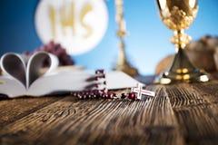 Primera comunión santa Foto de archivo