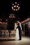 Primera danza Imagen de archivo libre de regalías