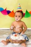 Primera fiesta de cumpleaños Fotografía de archivo