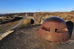 Primera fortaleza Douaumont de la guerra mundial Imagenes de archivo